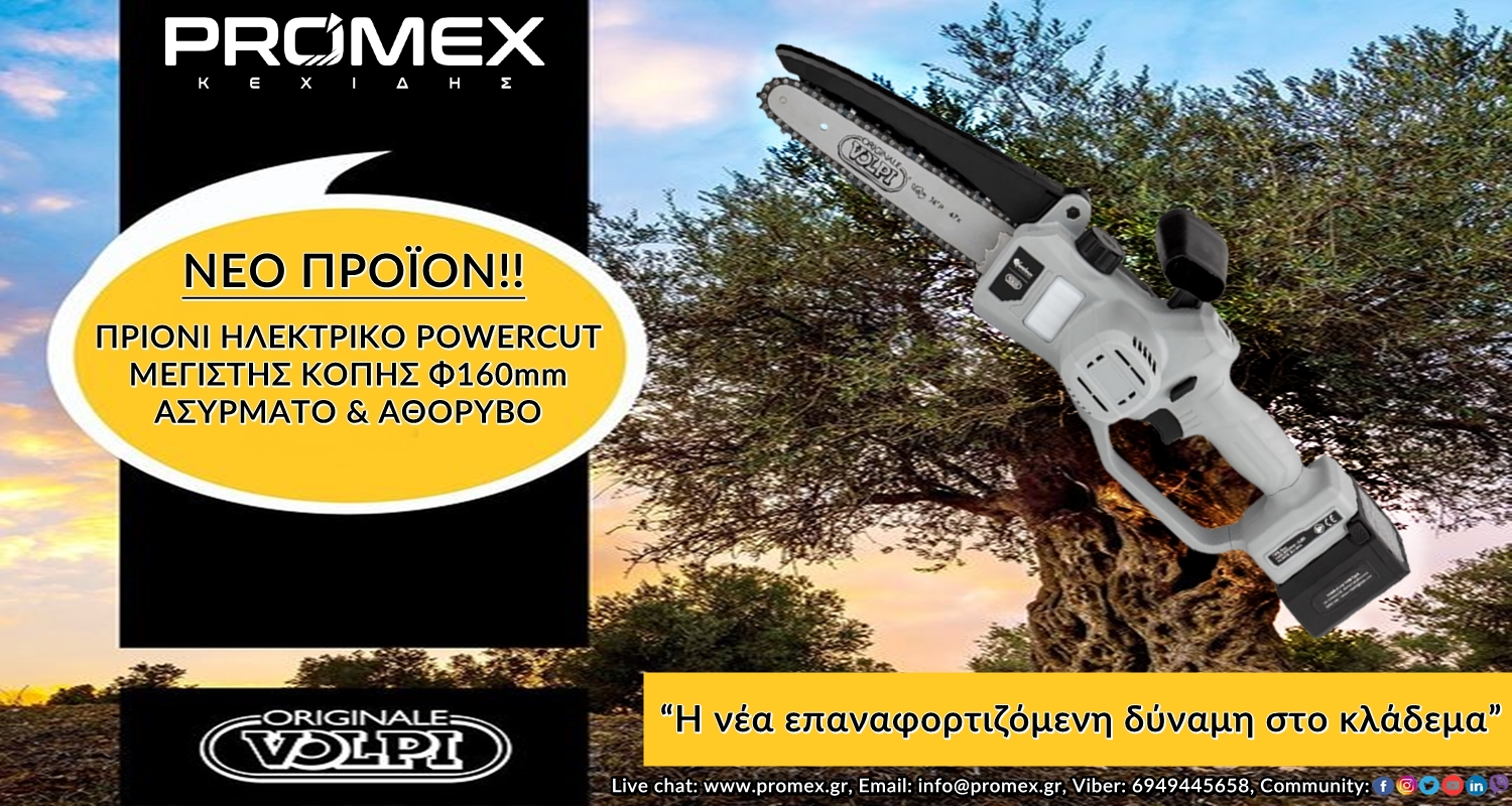 THE NEW RECHARGEABLE POWER IN PRUNING